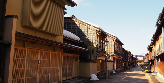 金沢町屋のイメージ